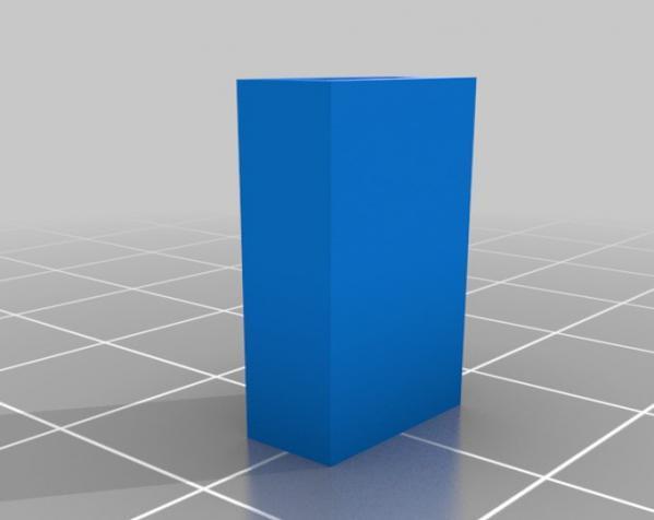 简易连接器 3D模型  图2