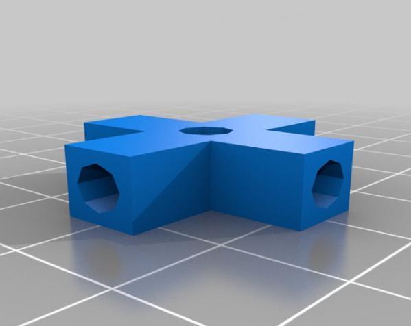 简易连接器 3D模型  图5