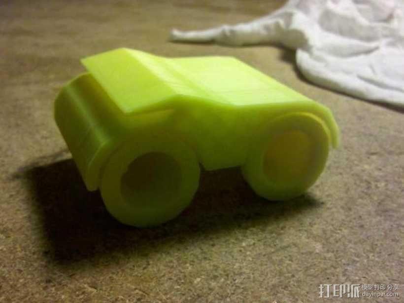 玩具车 3D模型  图1
