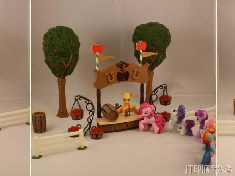 孩之宝小马玩具套件 3D模型  图12