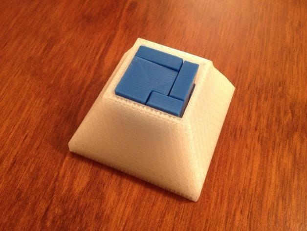 立方体拼图方块 3D模型  图2