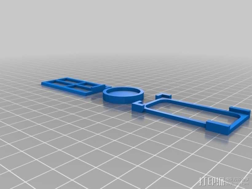 迷你架子 3D模型  图1