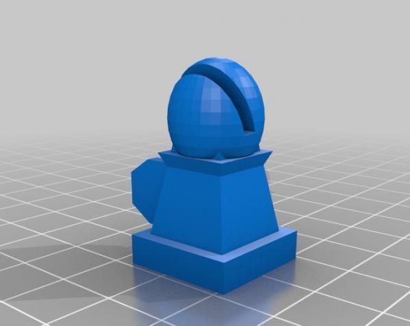 战斗型象棋 3D模型  图2