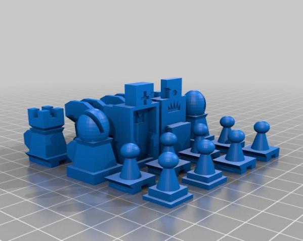 战斗型象棋 3D模型  图11