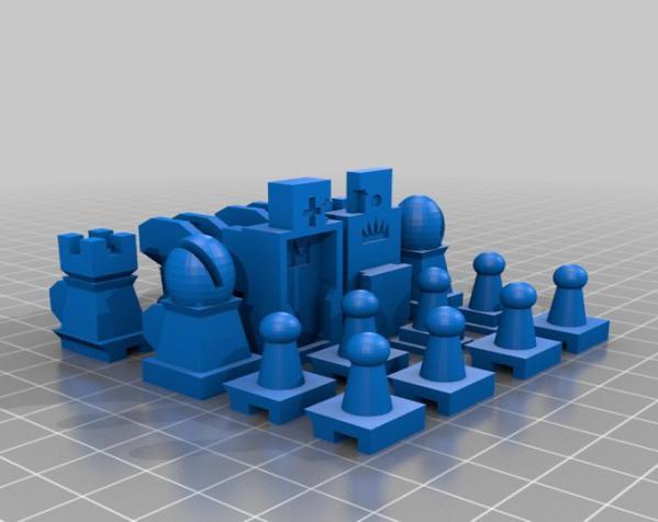 战斗型象棋 3D模型  图12