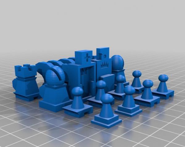 战斗型象棋 3D模型  图13