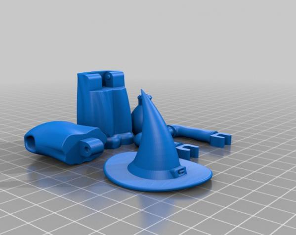 MakerBot巫师玩具 3D模型  图7