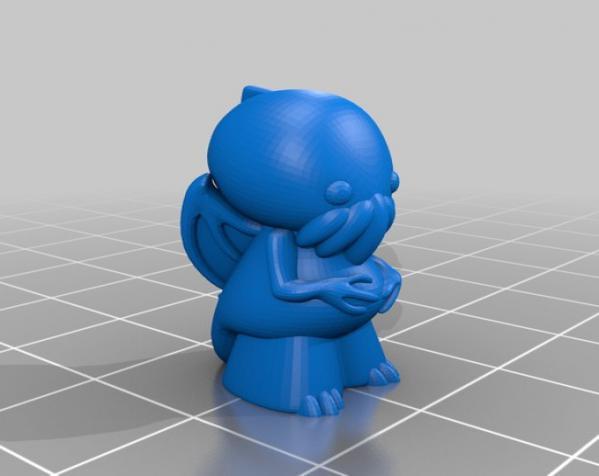 Lovecraft棋子 3D模型  图7