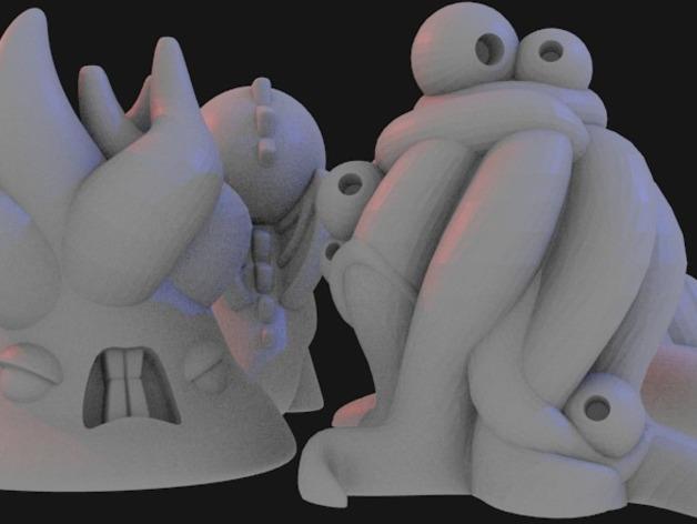 Lovecraft棋子 3D模型  图10