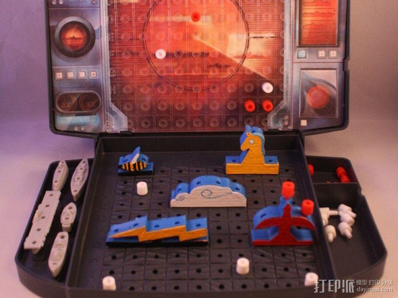 《Battleship》游戏零件 3D模型  图2