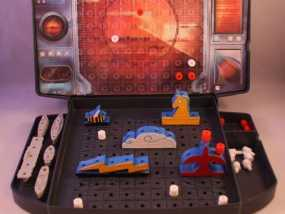 《Battleship》游戏零件 3D模型