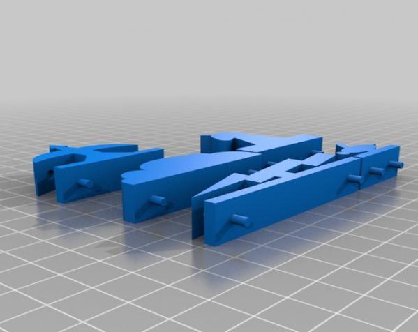 《Battleship》游戏零件 3D模型  图1