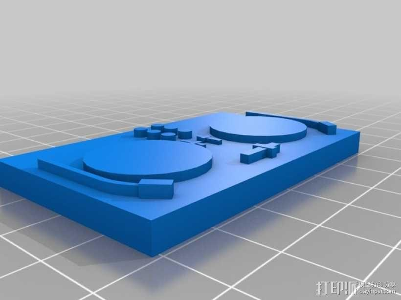 迷你少女模型 3D模型  图1