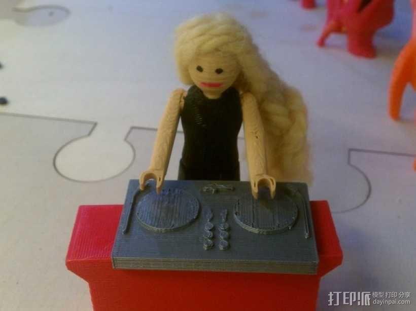 迷你少女模型 3D模型  图2