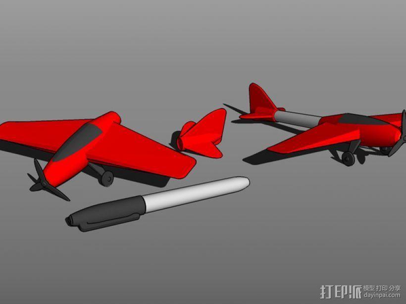 特技飞机 3D模型  图1