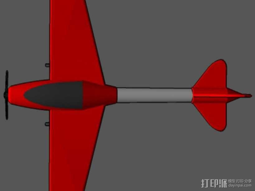 特技飞机 3D模型  图3