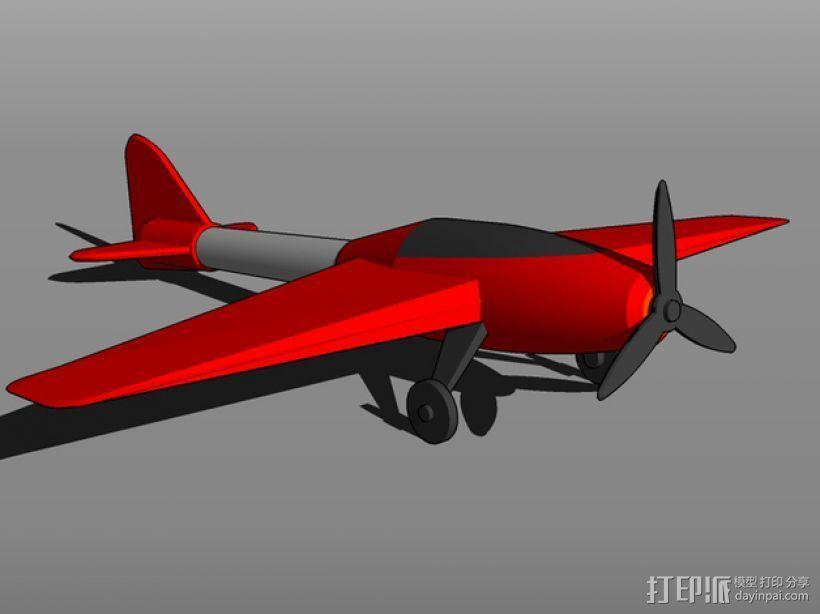 特技飞机 3D模型  图2
