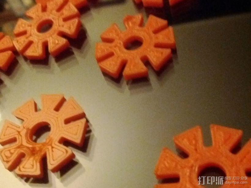 可堆叠的多边形 3D模型  图2