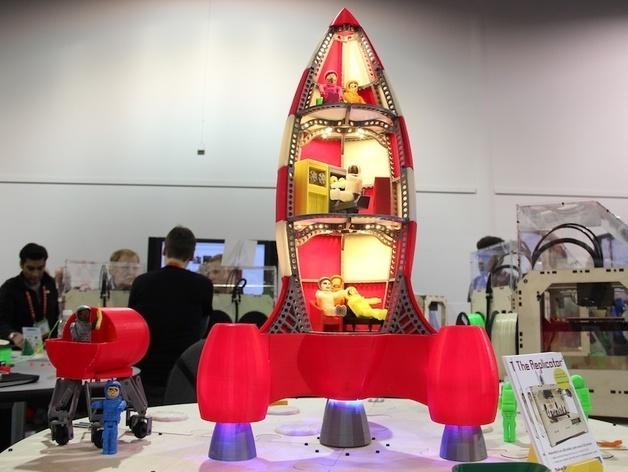 火箭玩具 3D模型  图2
