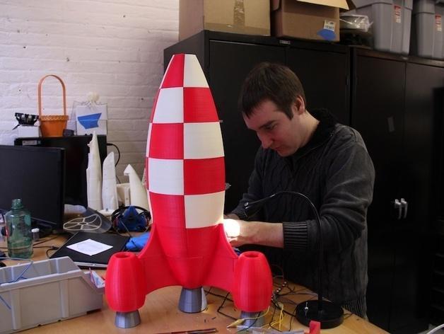 火箭玩具 3D模型  图7