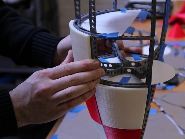 火箭玩具 3D模型  图8