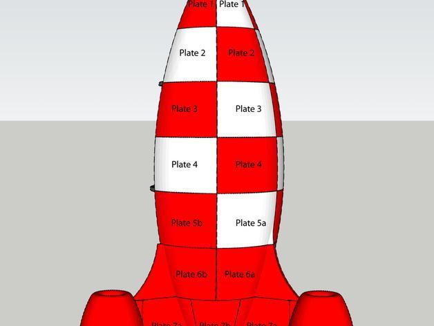 火箭玩具 3D模型  图11
