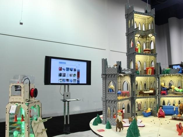 城堡模型 3D模型  图4
