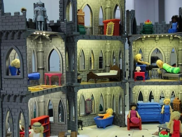 城堡模型 3D模型  图6