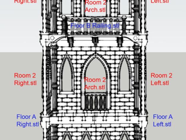 城堡模型 3D模型  图8