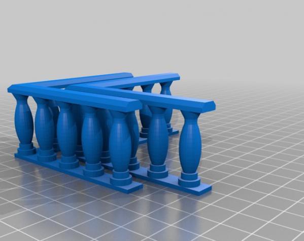 城堡模型 3D模型  图13