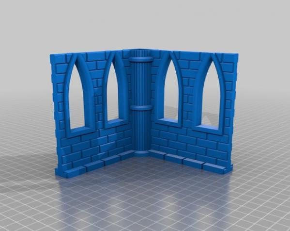 城堡模型 3D模型  图17
