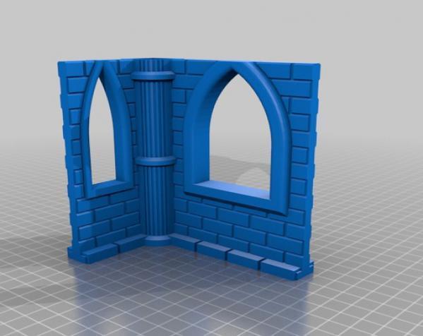 城堡模型 3D模型  图19