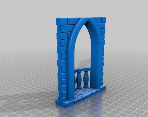 城堡模型 3D模型  图18