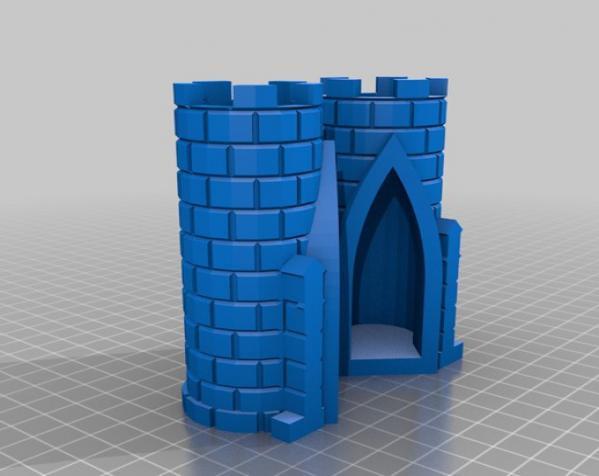 城堡模型 3D模型  图22