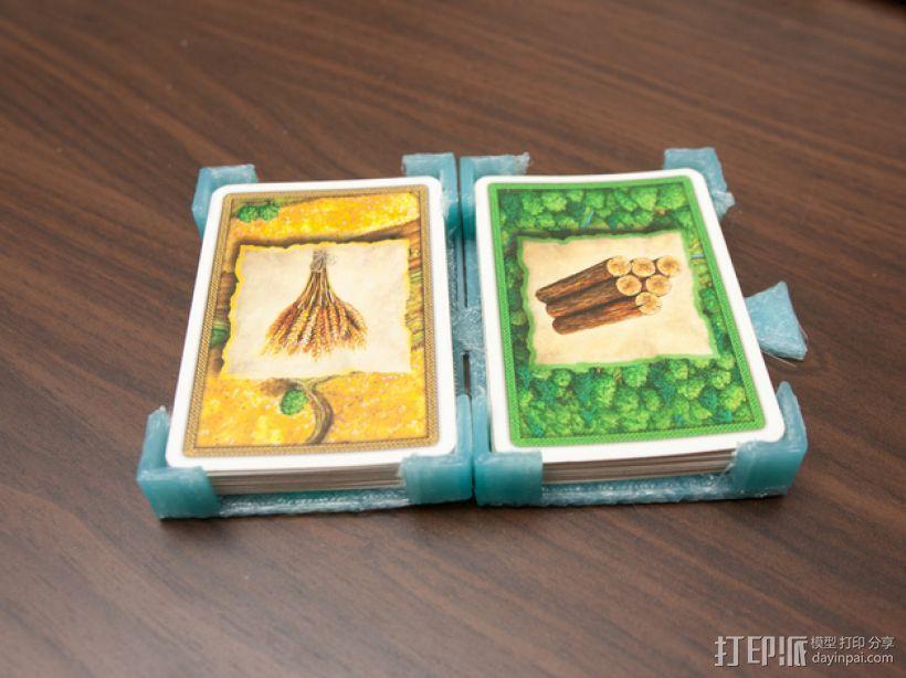 游戏卡卡片夹 3D模型  图1