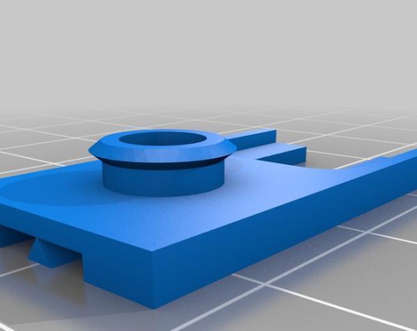 1:43汽车车道 3D模型  图1