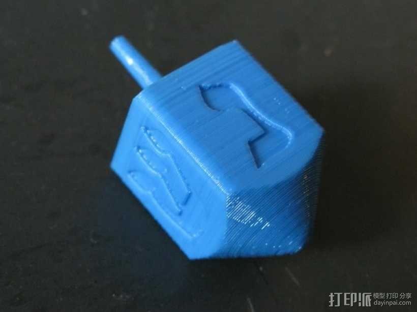 四面陀螺 3D模型  图1