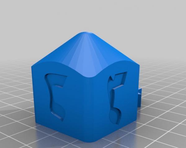 四面陀螺 3D模型  图3