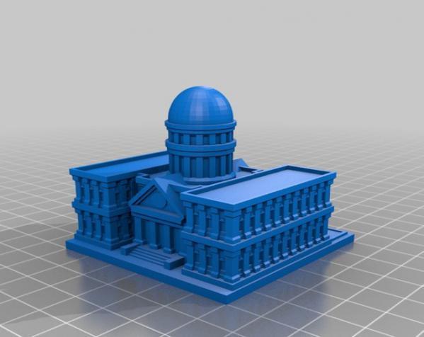 《模拟城市2000》游戏模型 3D模型  图2