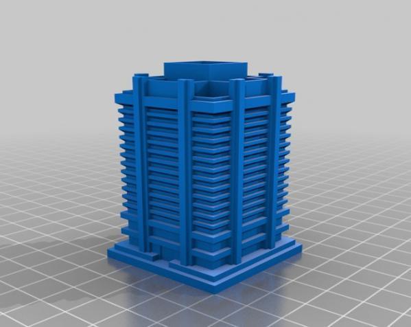 《模拟城市2000》游戏模型 3D模型  图1