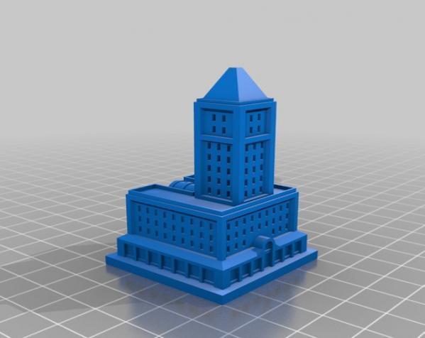 《模拟城市2000》游戏模型 3D模型  图4