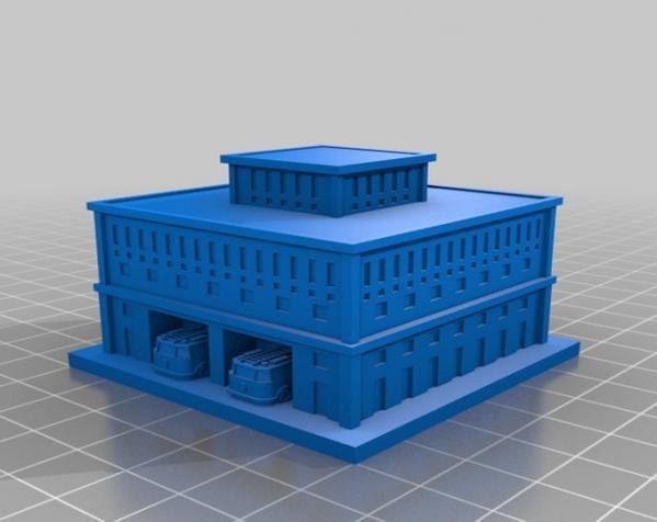 《模拟城市2000》游戏模型 3D模型  图3