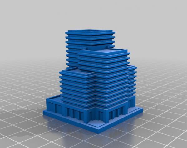 《模拟城市2000》游戏模型 3D模型  图5