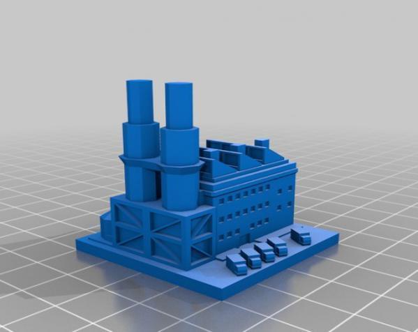 《模拟城市2000》游戏模型 3D模型  图7