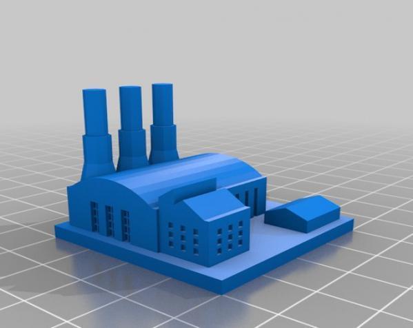 《模拟城市2000》游戏模型 3D模型  图11