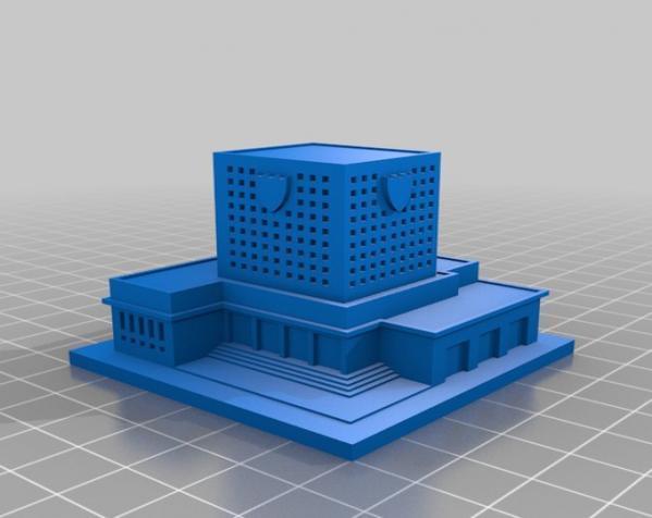 《模拟城市2000》游戏模型 3D模型  图14