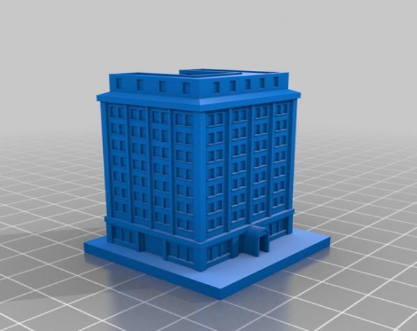 《模拟城市2000》游戏模型 3D模型  图15