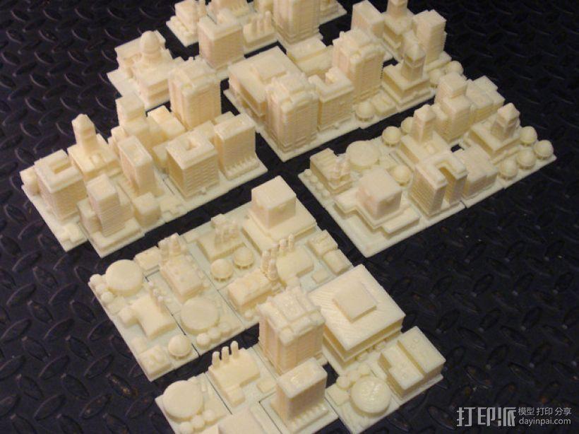 《模拟城市2000》游戏模型 3D模型  图17