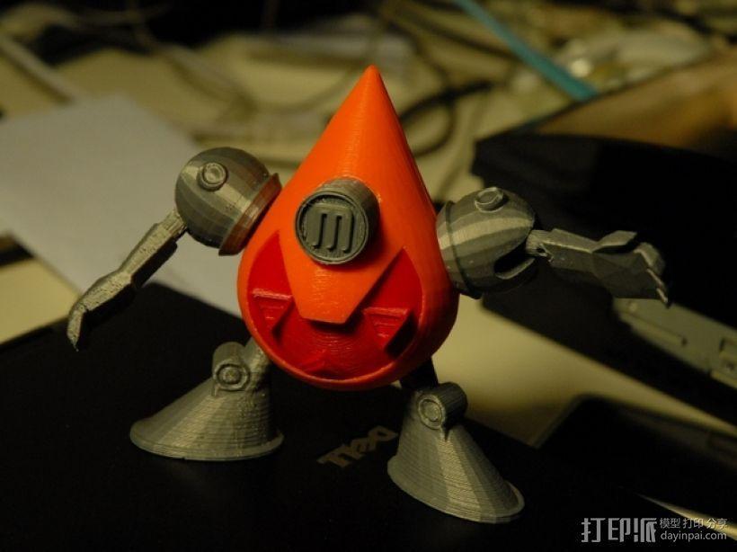 曼波机器人 3D模型  图11