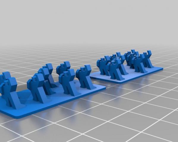 战争游戏玩偶 3D模型  图2